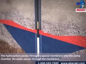 PetroXtractor Active Membrane Skimmer