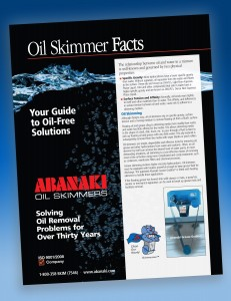 Oil Skimming Fact Tutorial Book