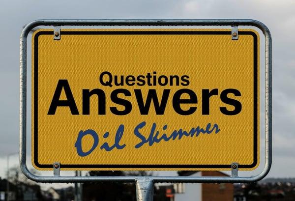 Oil Skimmer FAQ