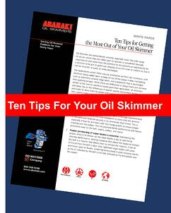 ten tips of oil skimming