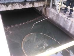 Abanaki Oil Viper floating tube skimmer